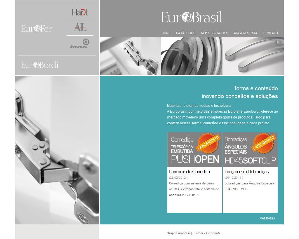 Eurobrasil   Forma e conteúdo - Inovando conceitos e soluções