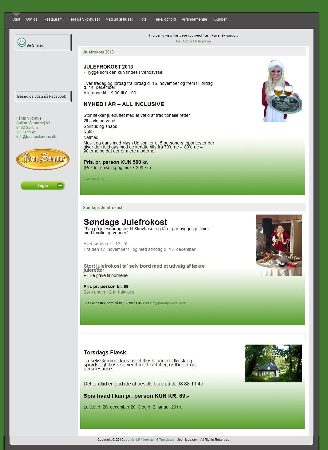 Beautiful Joomla! template JSN Dome by JoomlaShine.com