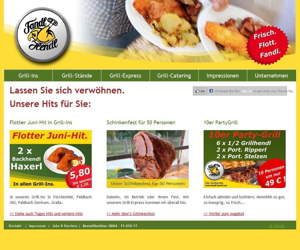 Fandl Hendl - GrillCatering und Grillstuben in Fürstenfeld