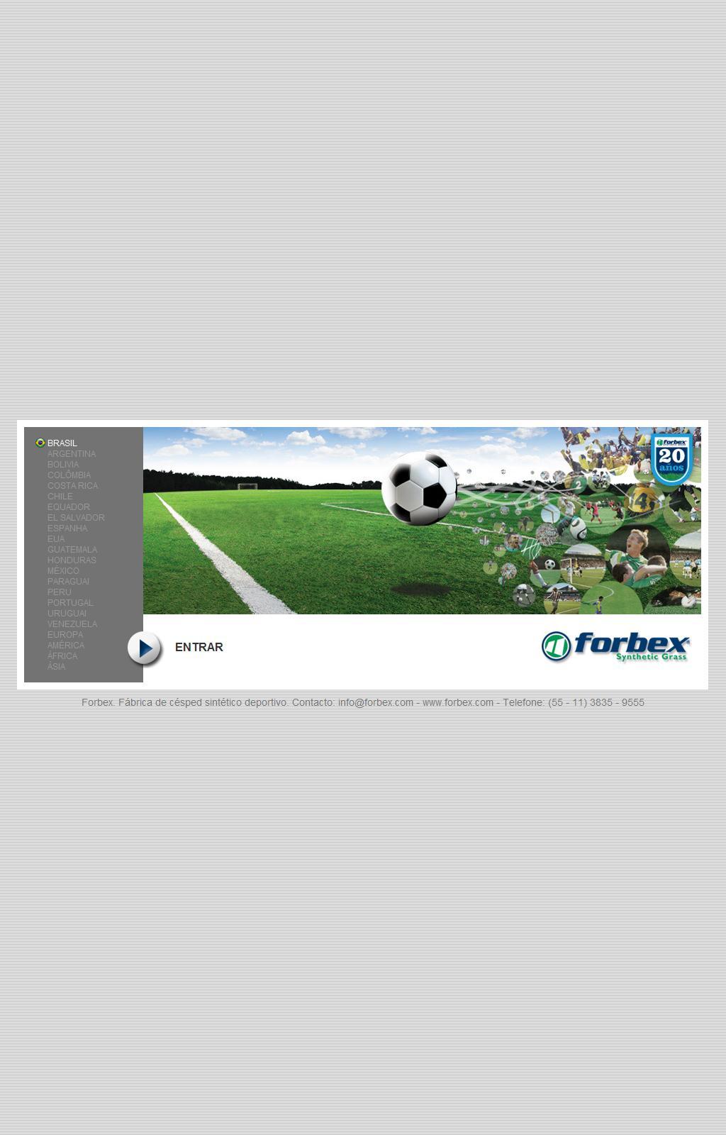 Grama Sintetica Forbex - Grama Artificial - Grama Futebol