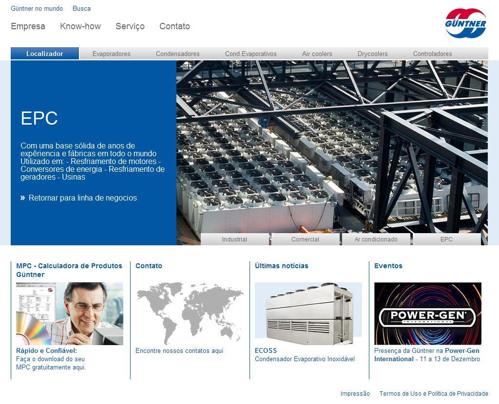 Güntner AG: www.guentner.com.br