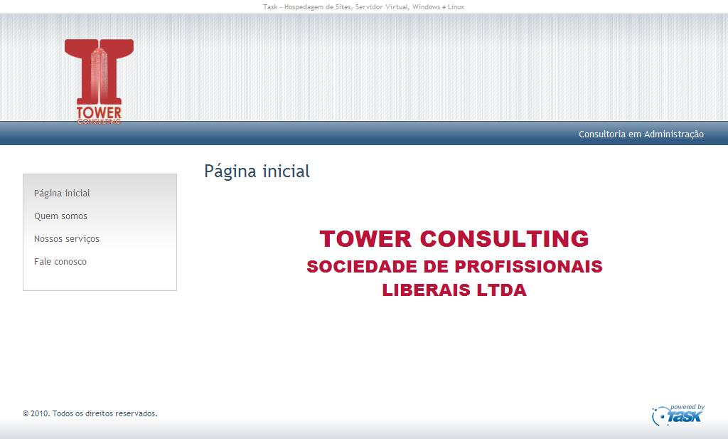 TOWER CONSULTING - Página inicial