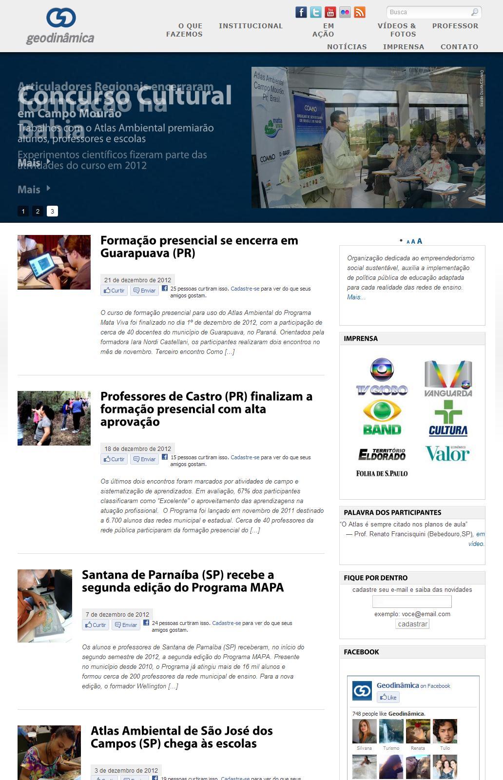 Geodinâmica Editora - Auxiliamos a implantação de política pública de educação ambiental em redes de ensino