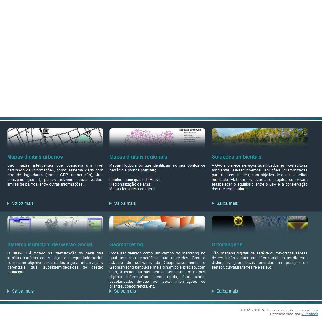 GeoJÁ - Mapas Digitais e Soluções em Meio Ambiente