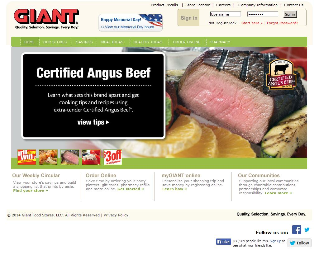 giant stores corporation case 2 6 Giant food stores - hourly rate - get a free salary comparison based on job title, skills, experience and education accurate, reliable salary and compensation comparisons for united states.
