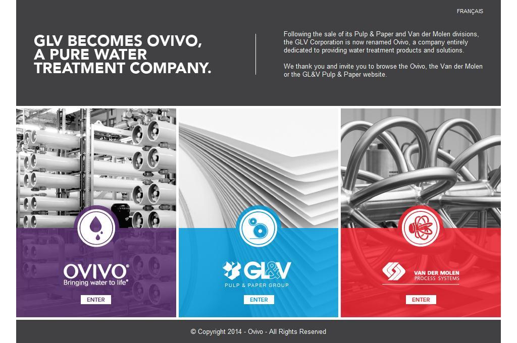 GLV Becomes Ovivo