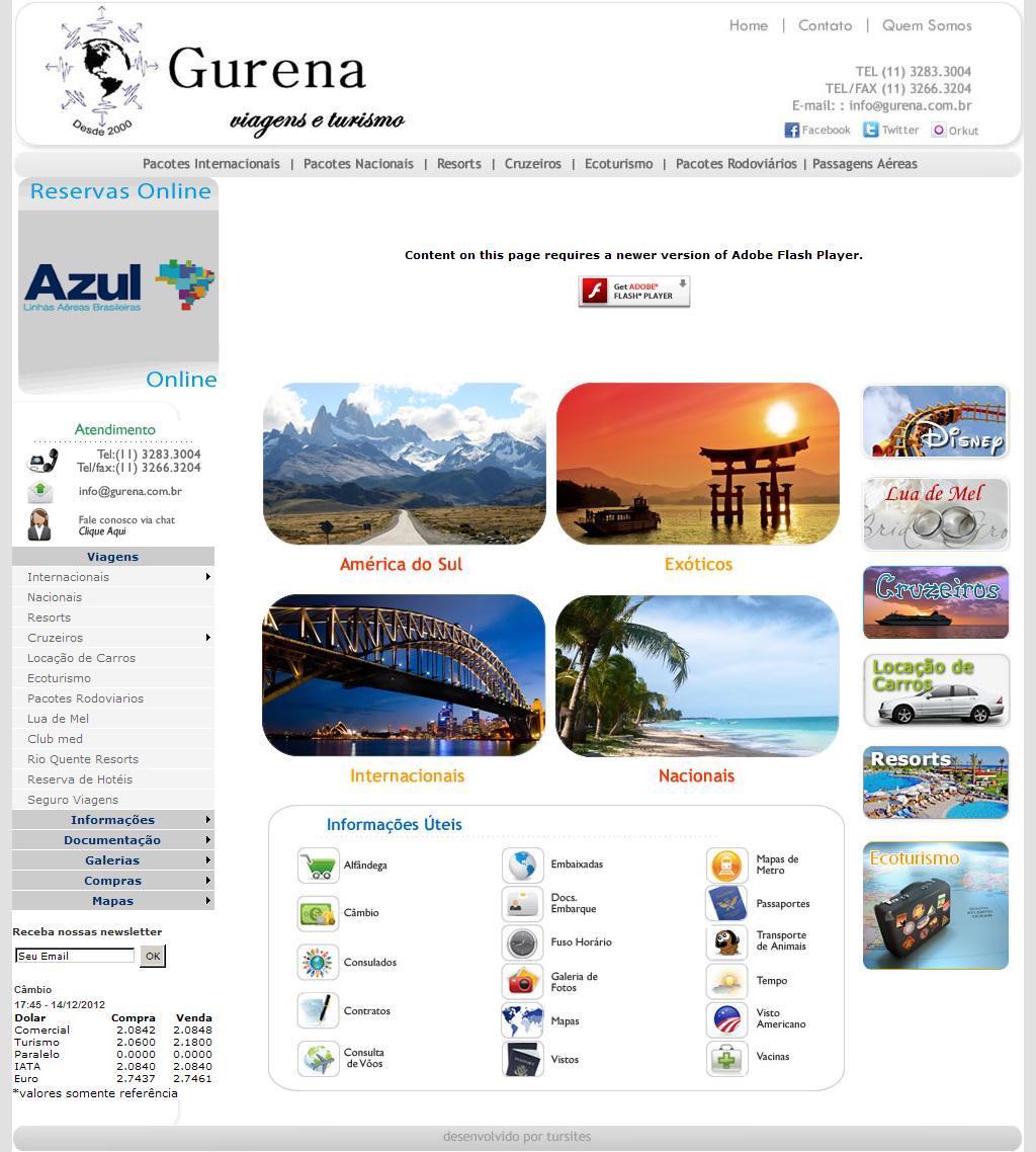 ./ Gurena Viagens e Turismo /.