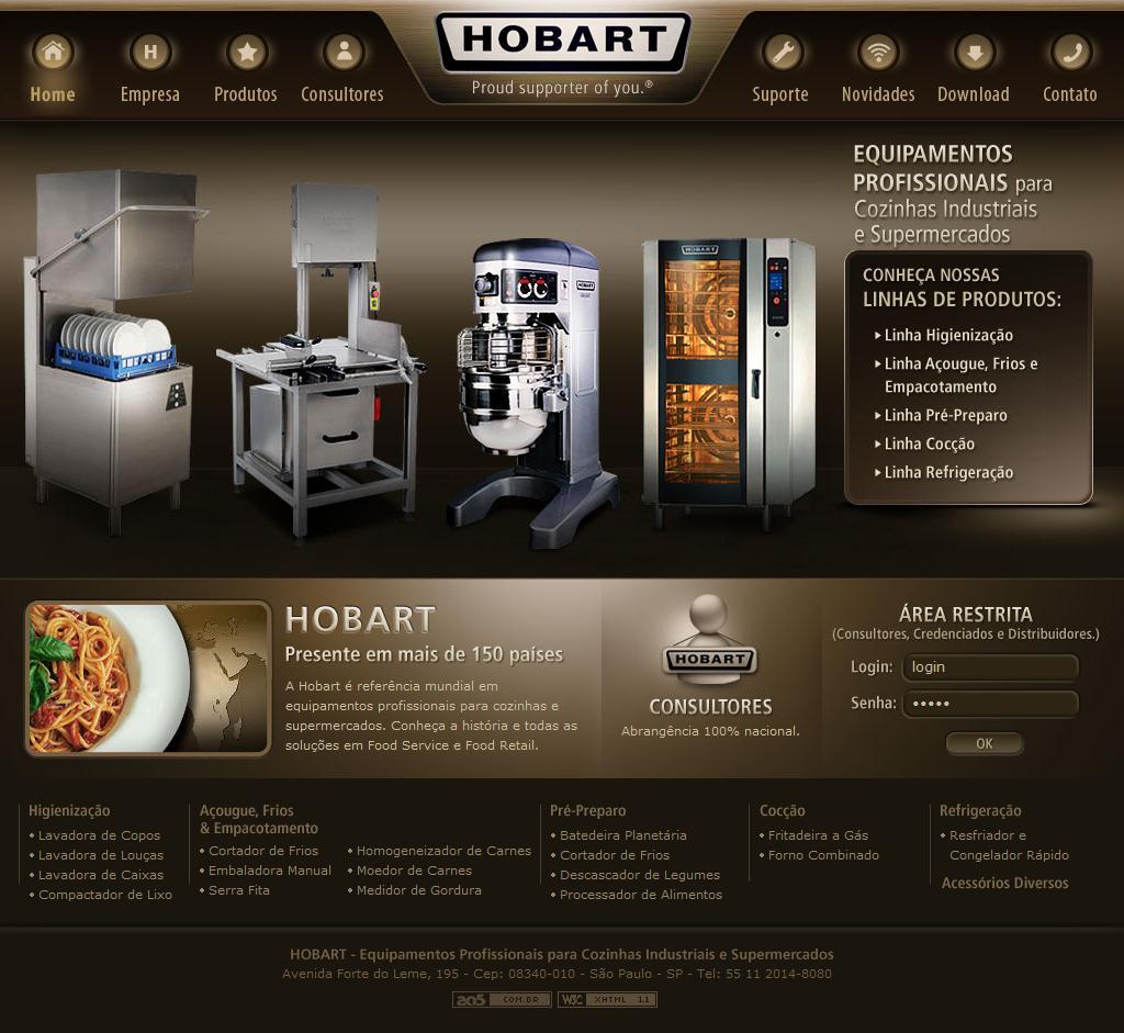 Equipamentos para Cozinha Industrial e Supermercados | Hobart