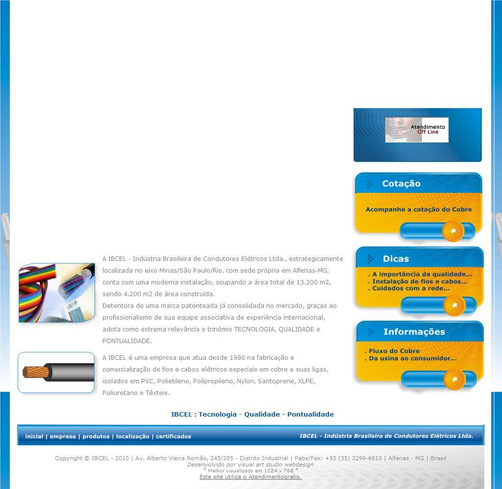 .: I B C E L - Indústria Brasileira de Condutores Elétricos Ltda.  :.
