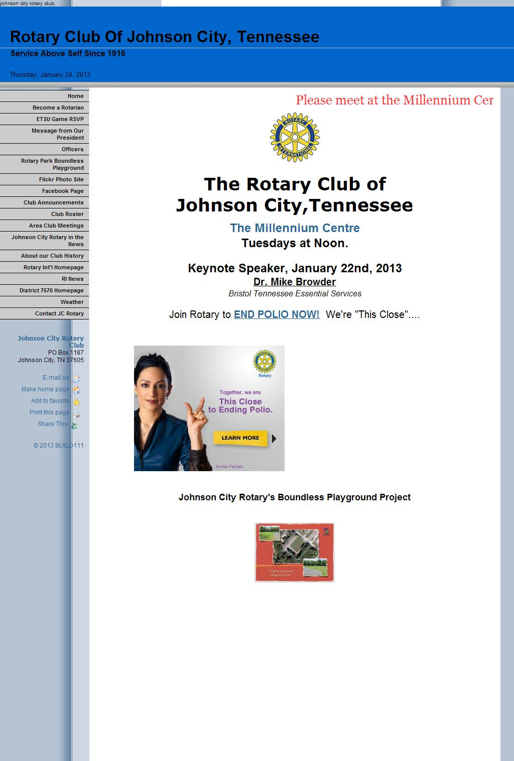 Johnson City Rotary Club