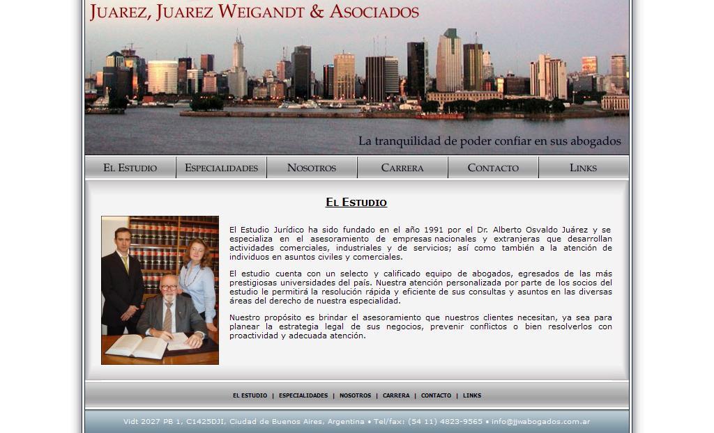JUAREZ, JUAREZ WEIGANDT & ASOC
