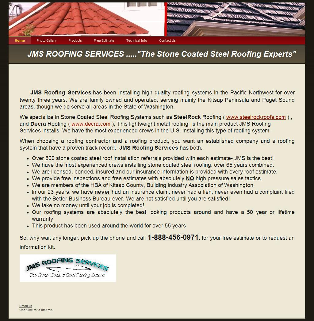 Home - JMS Roofing Services