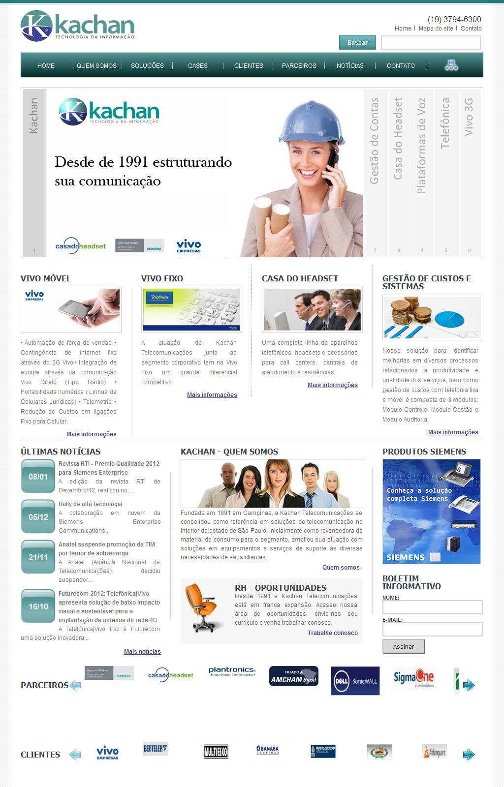 Kachan Telecomunicações Campinas