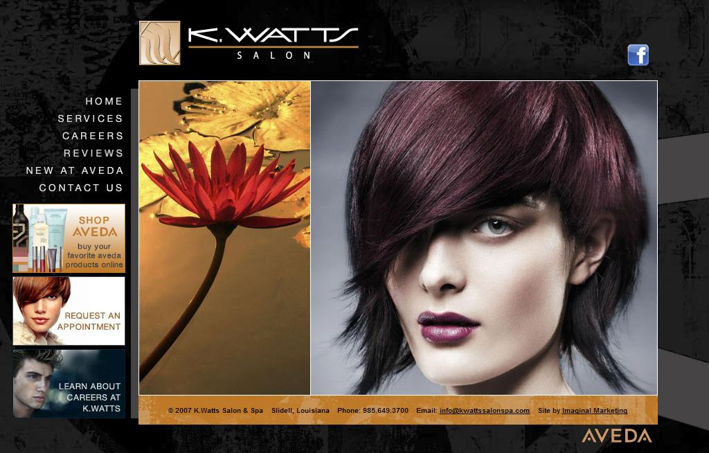 K.Watts - Aveda Salon Services - Slidell, Louisiana