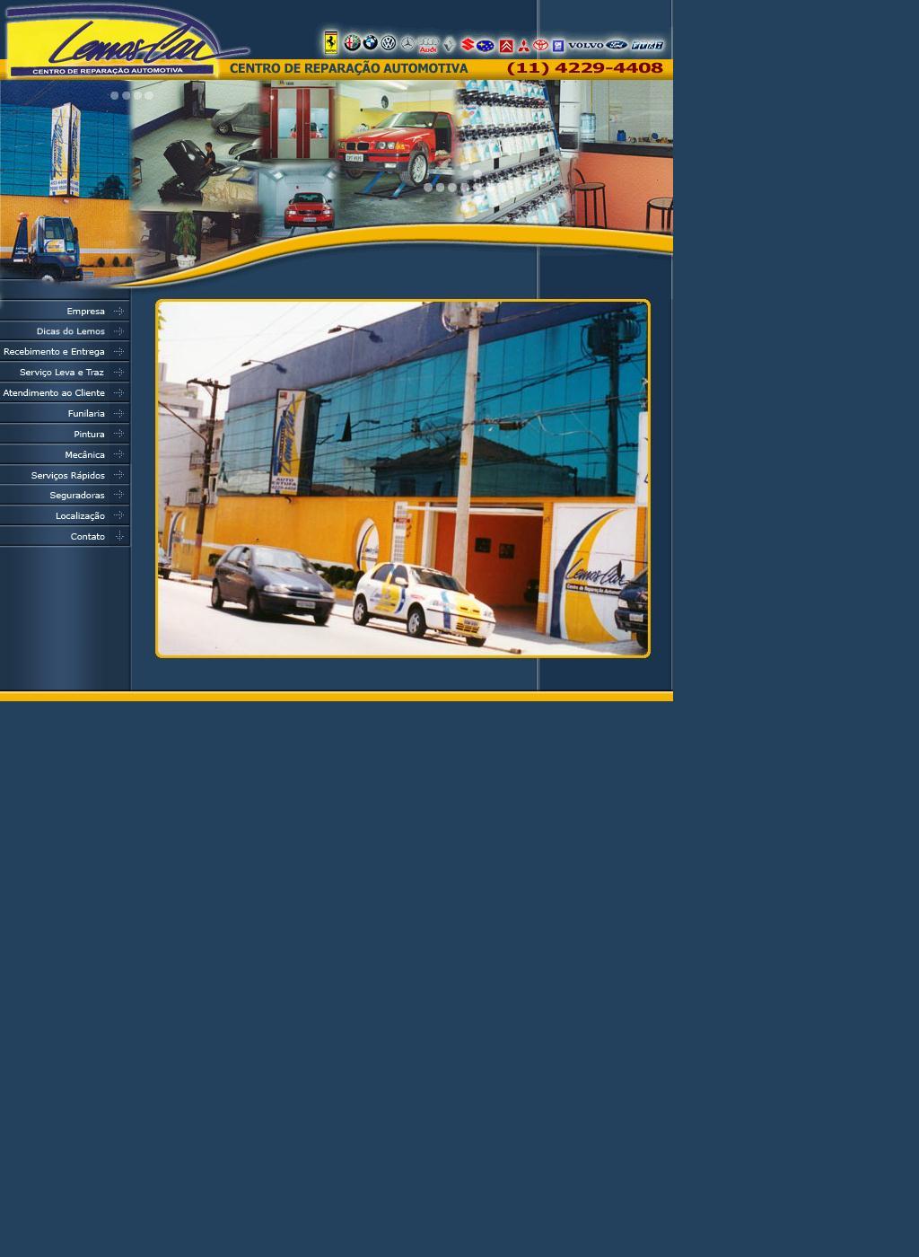 ..:: LEMOS CAR - Centro de Reparação Automotiva ::..