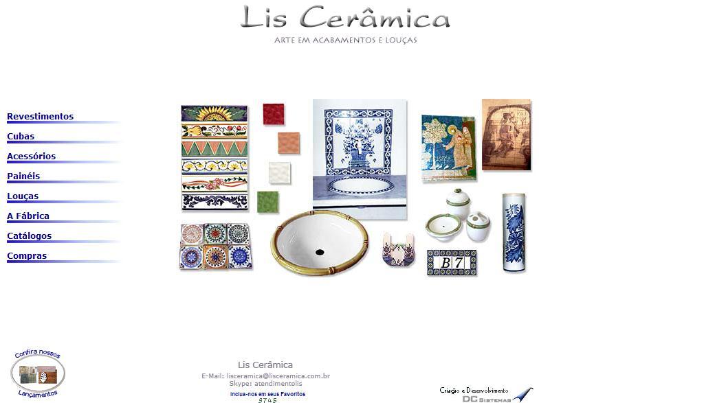 Lis Cerâmica - Arte em Acabamentos e Louças