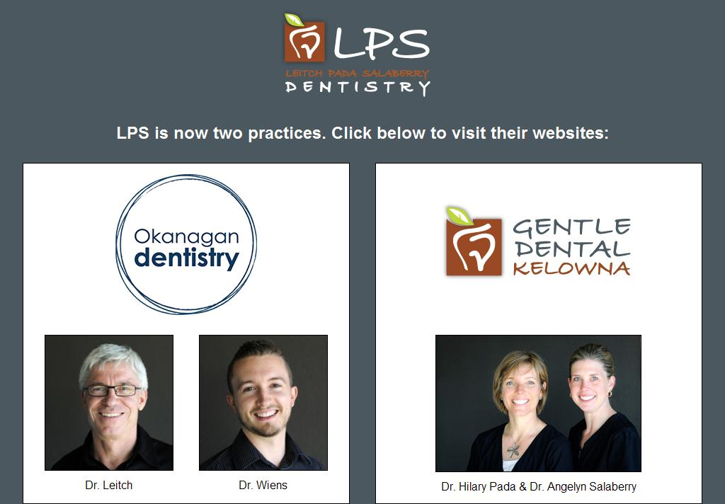 Kelowna Dentists: Leitch Pada Salaberry Dentistry - improving lives through dentistry in Kelowna, BC