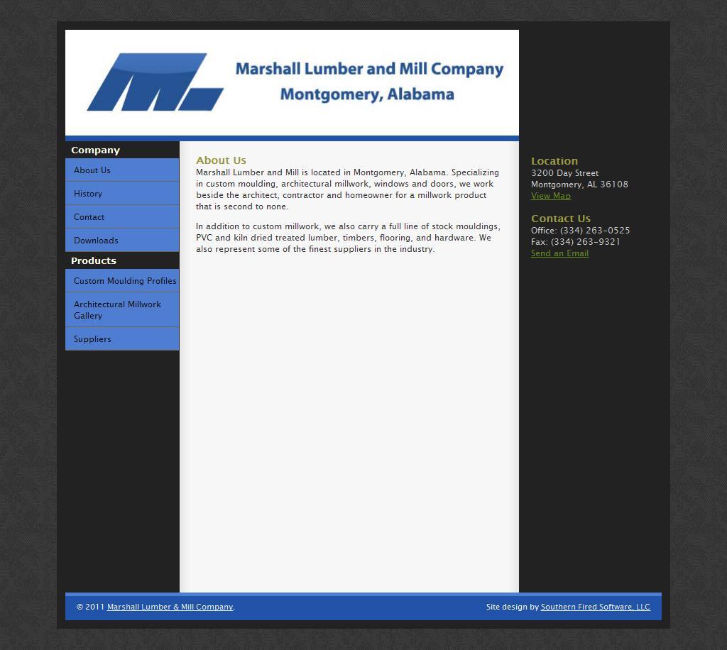 Marshall Lumber and Mill Company