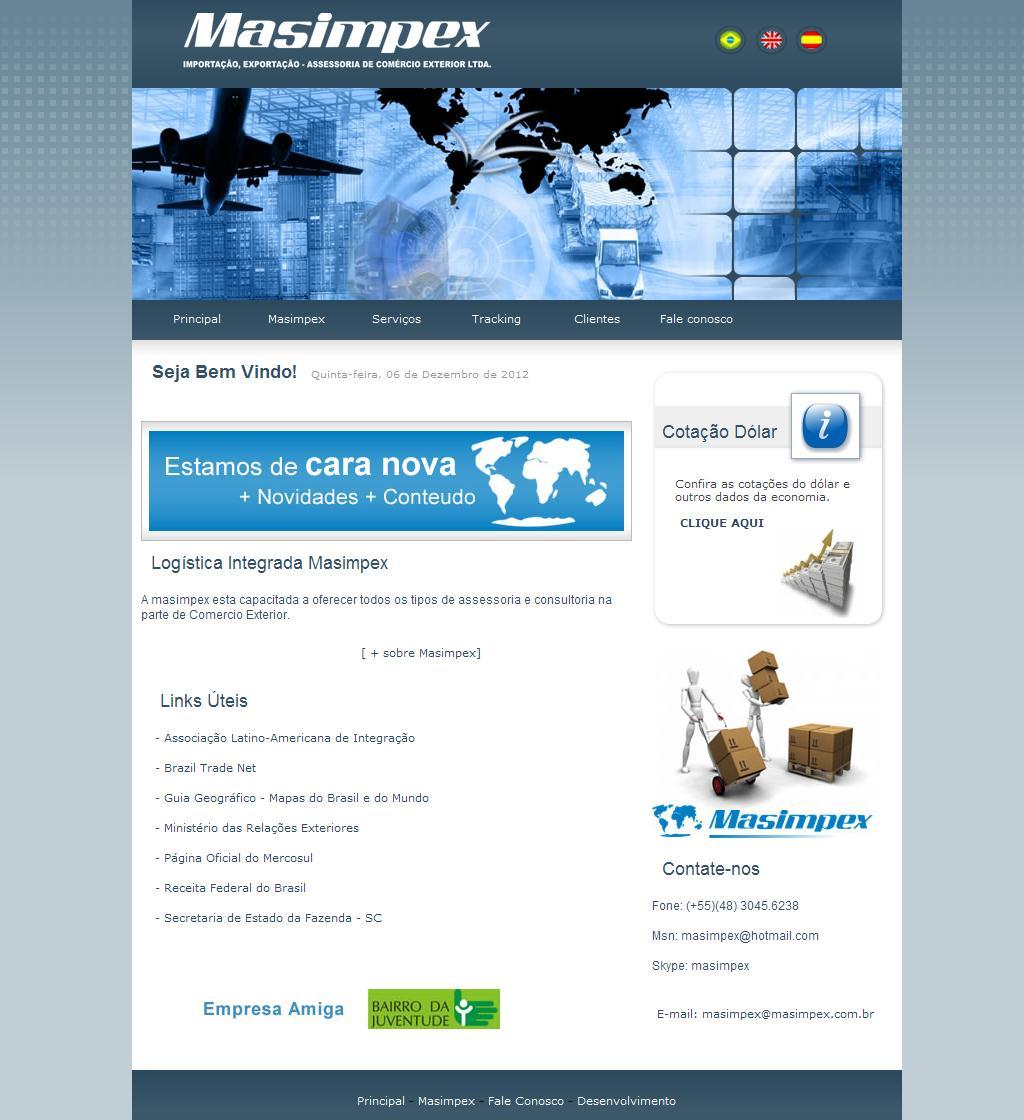 ::: Masimpex - Importação Exportação e Assessoria de Comércio Exterior :::