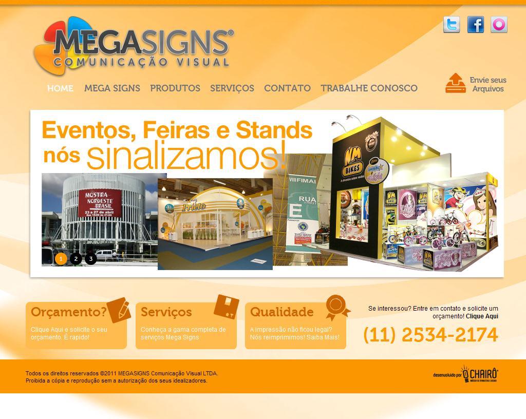 Mega Signs Comunicação Visual