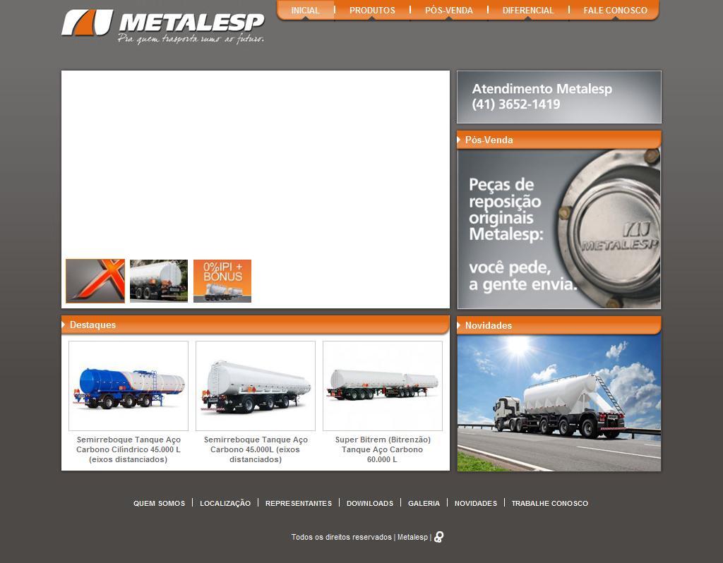 Metalesp: Soluções em Equipamentos para Transporte de Cargas