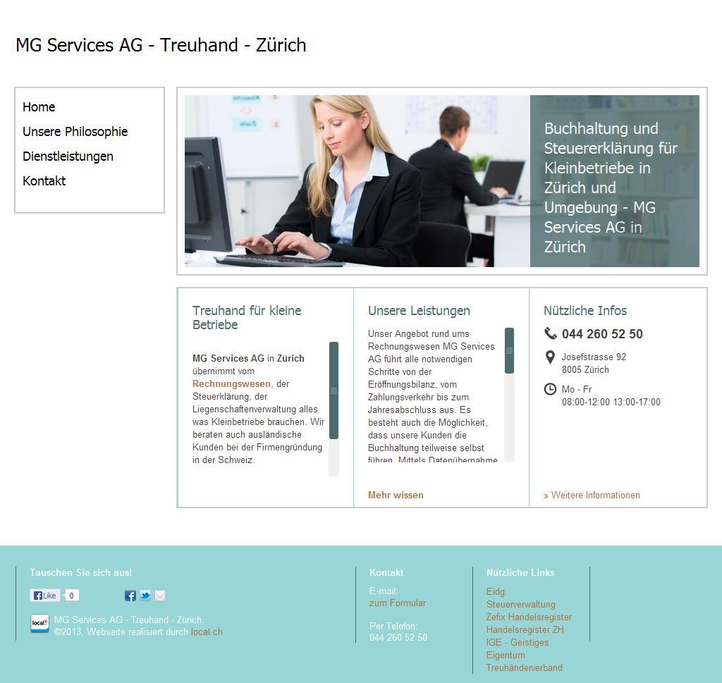 MG Services AG - Treuhand - Zürich