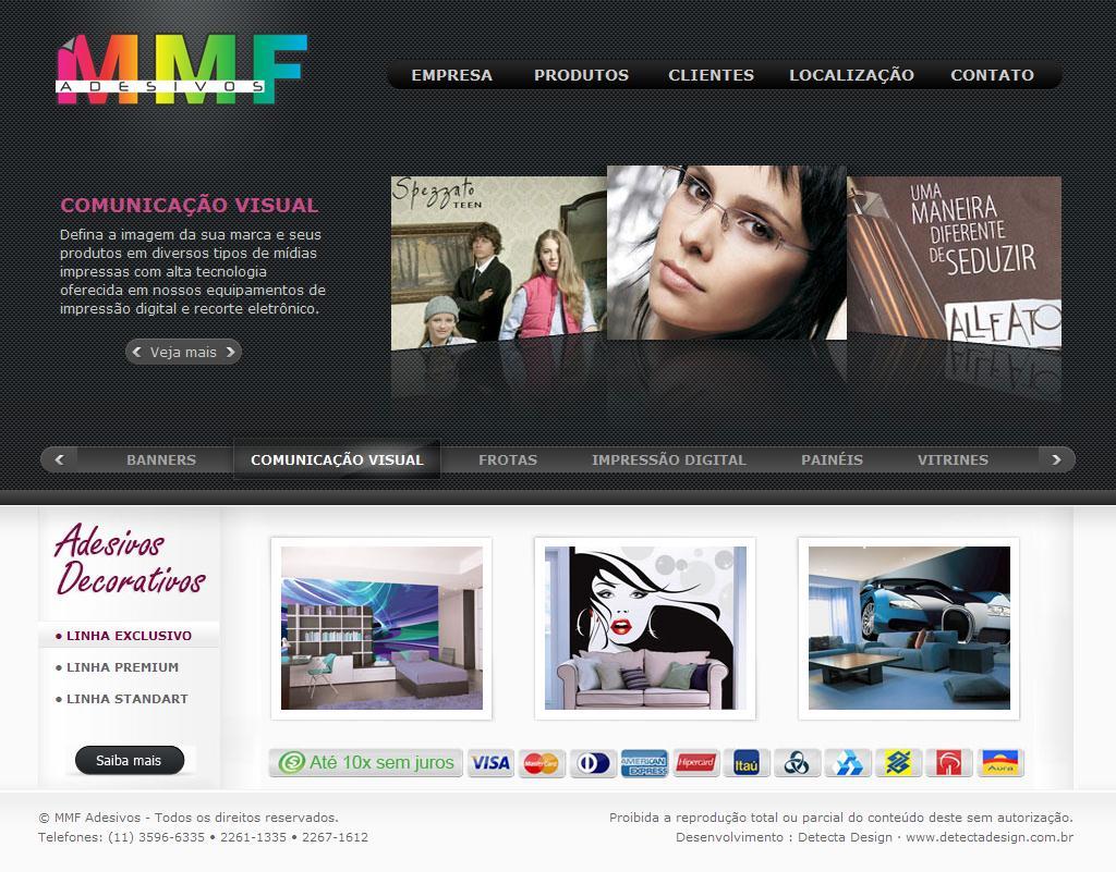 MMF Adesivos Decorativos e Comunicação Visual SP
