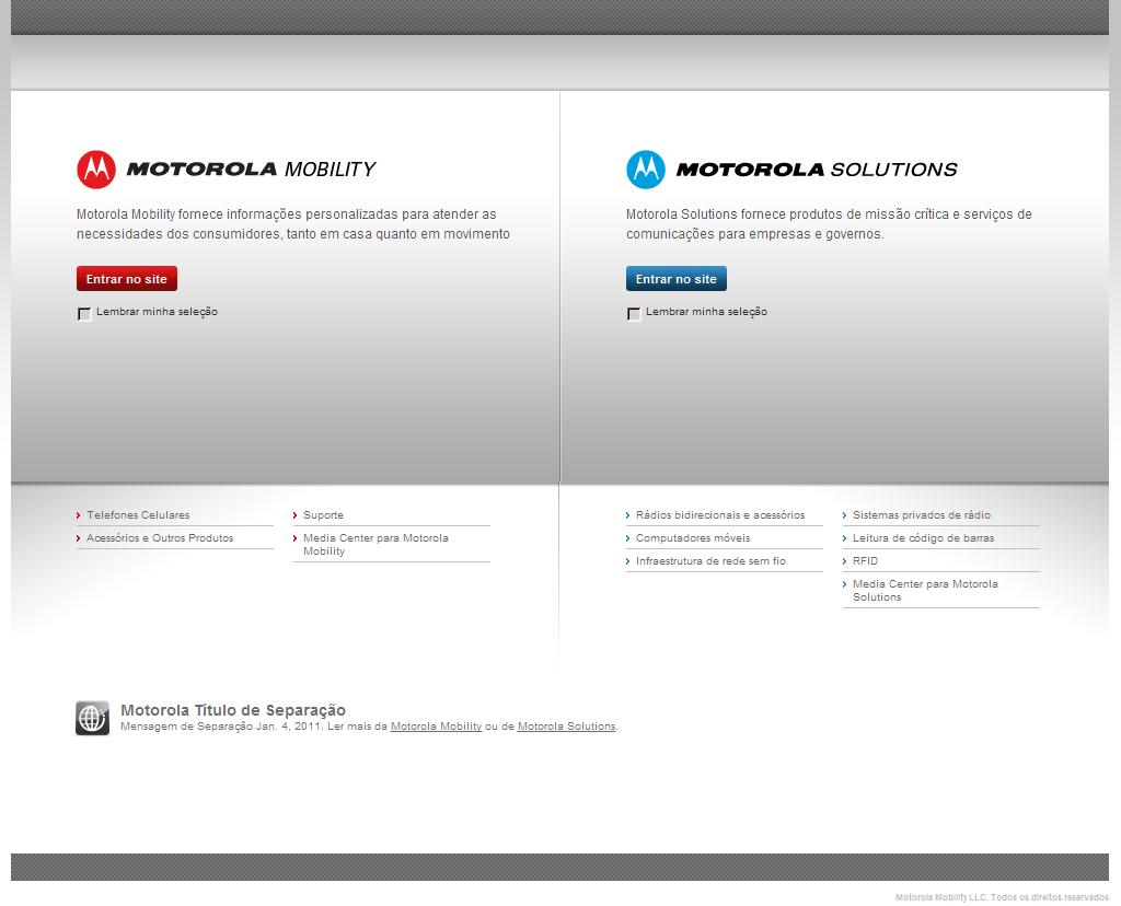 Motorola Mobility LLC. Brazil Limited