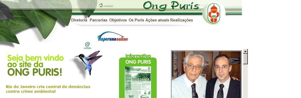 :: ONG PURIS de Ecologia