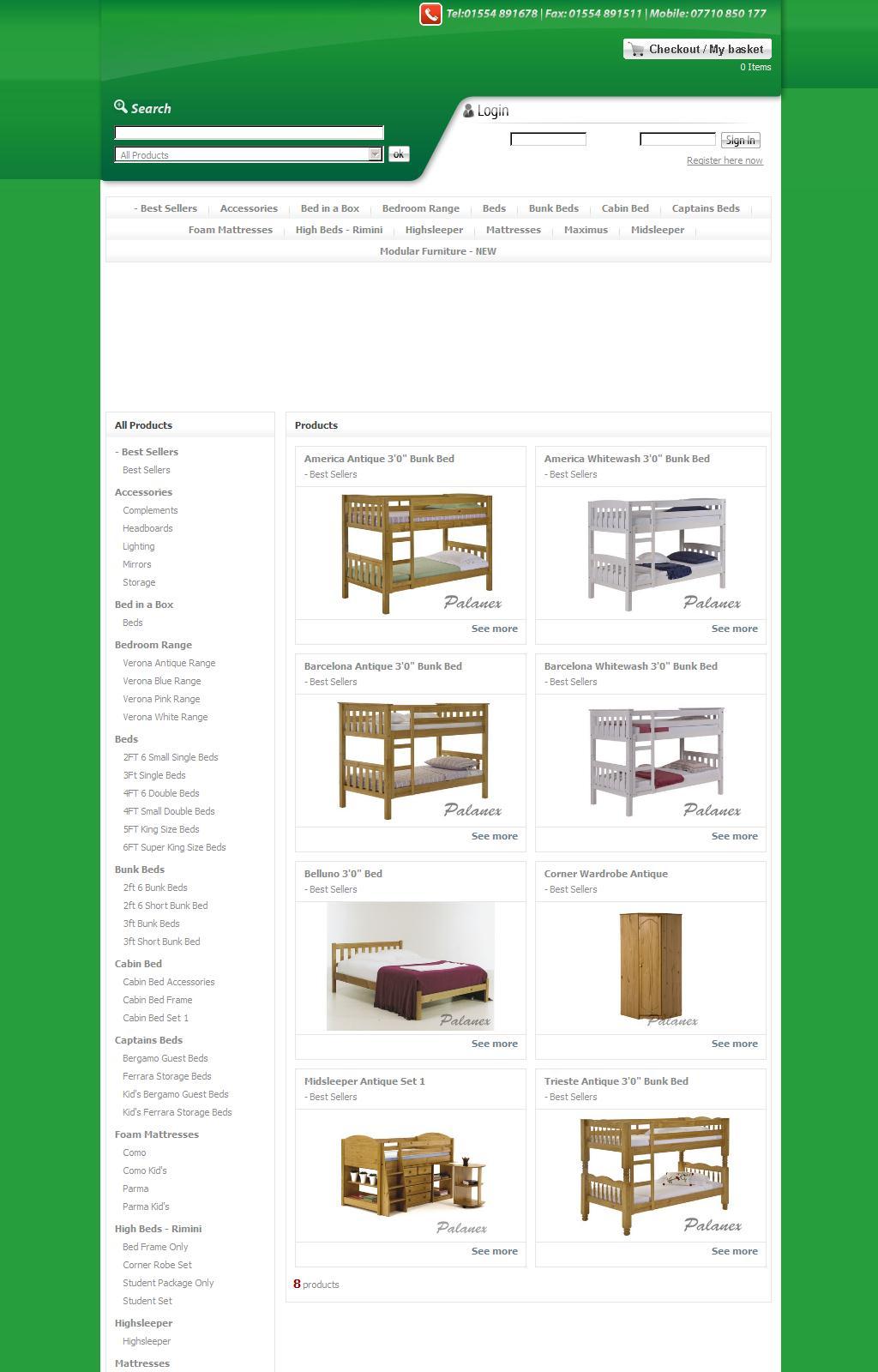 Palanex Móveis - Virtual Store