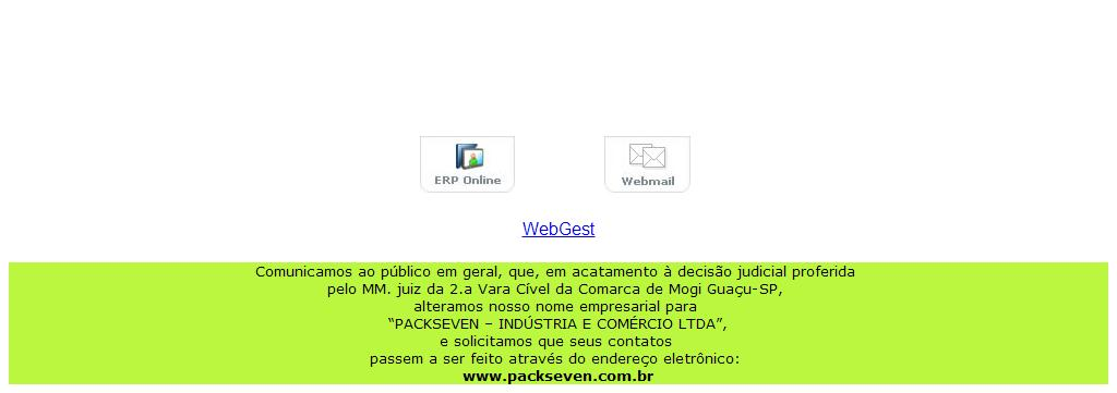 PACKSEVEN Indústria e Comércio Ltda. Fone +55 (19)3861-7351 / 3019-2300  Fax +55 (19)3891-2372