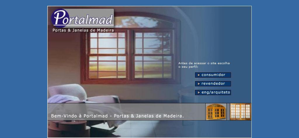 Portalmad Esquadrias de Madeira - Portas e Janelas de Madeira