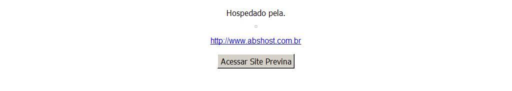 Site hospedado pela ABS HOST.... www.abshost.com.br