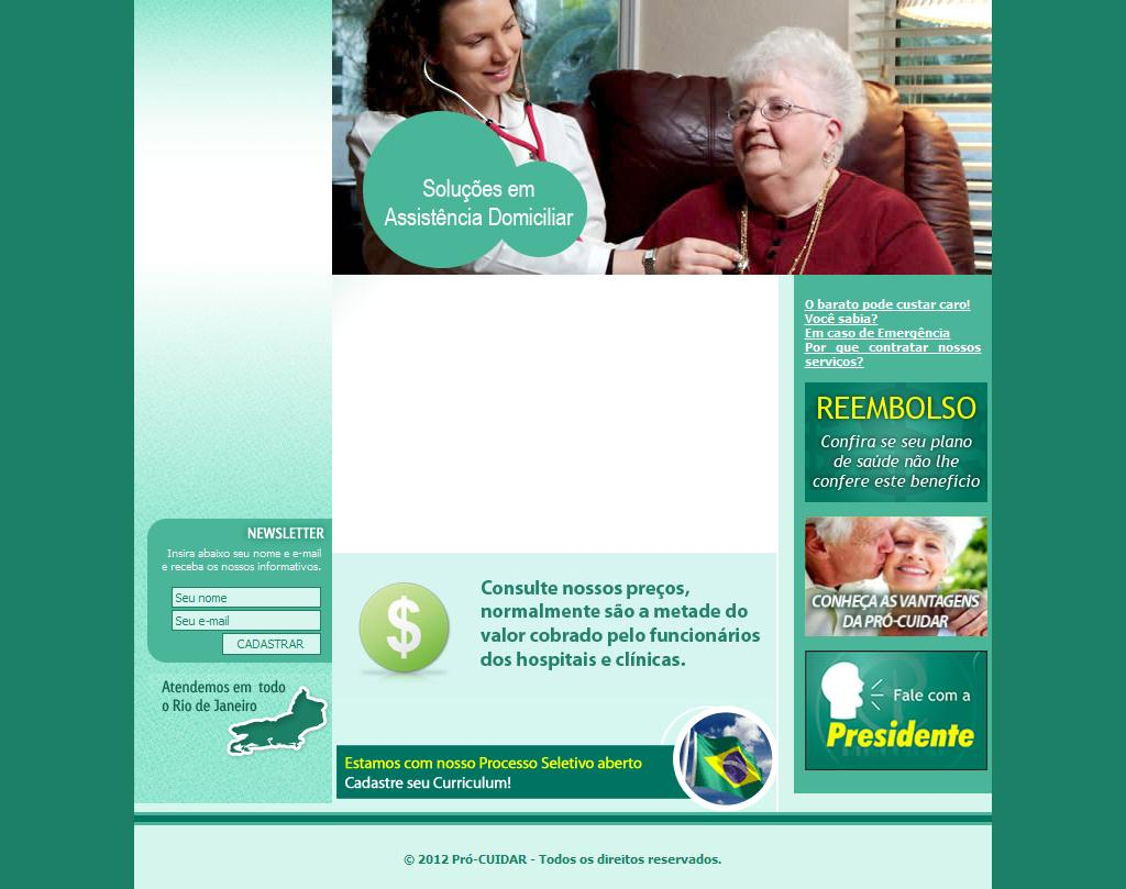 Pró Cuidar - Soluções em Enfermagem Domiciliar, Home Care, Cuidadores
