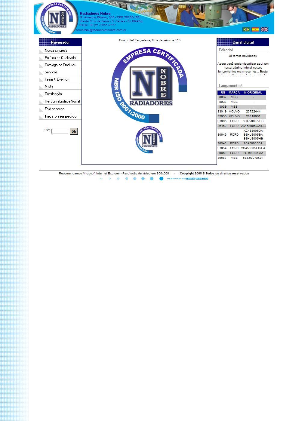 Radiadores Nobre - Indústria e Comércio