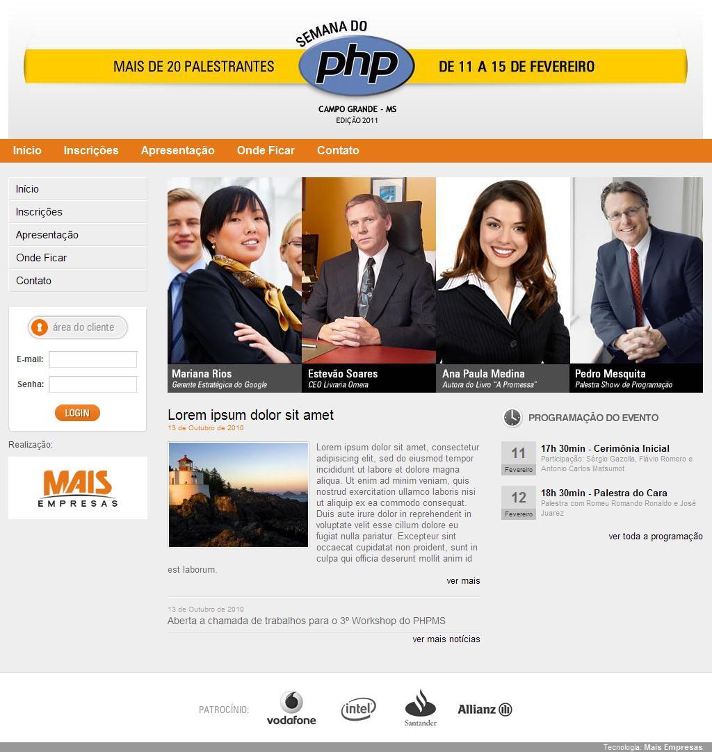 Semana do PHP em Campo Grande - MS