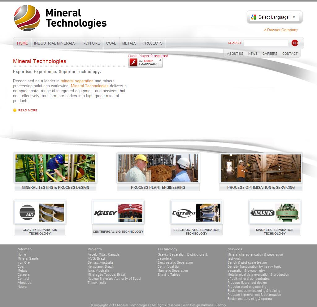 Mineral Technologies - Mineral Separation and Mineral Processing Solutions