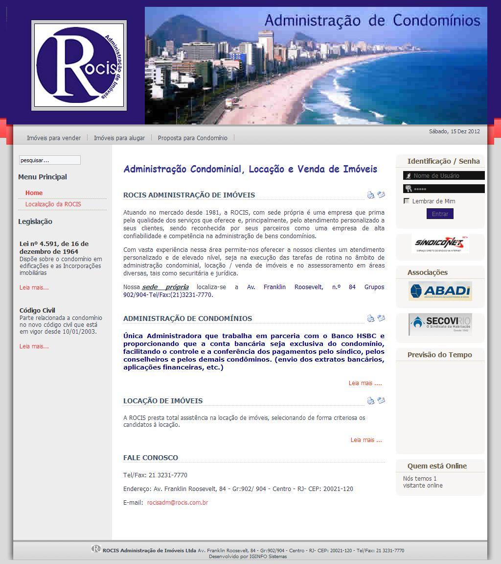 ROCIS Administração de Imóveis