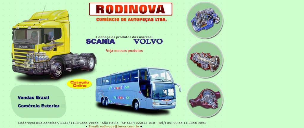 Rodinova Comércio de Autopeças Ltda.
