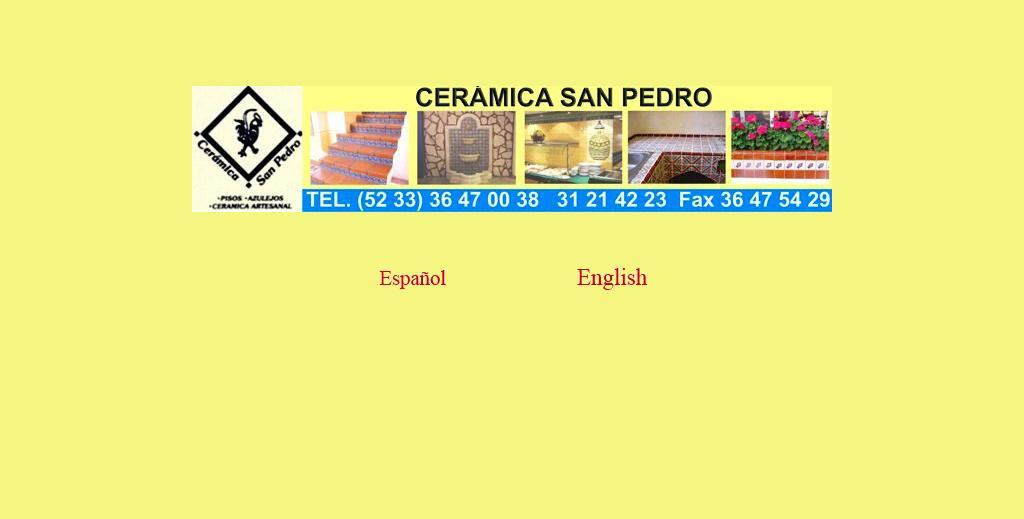 Ceramica San Pedro