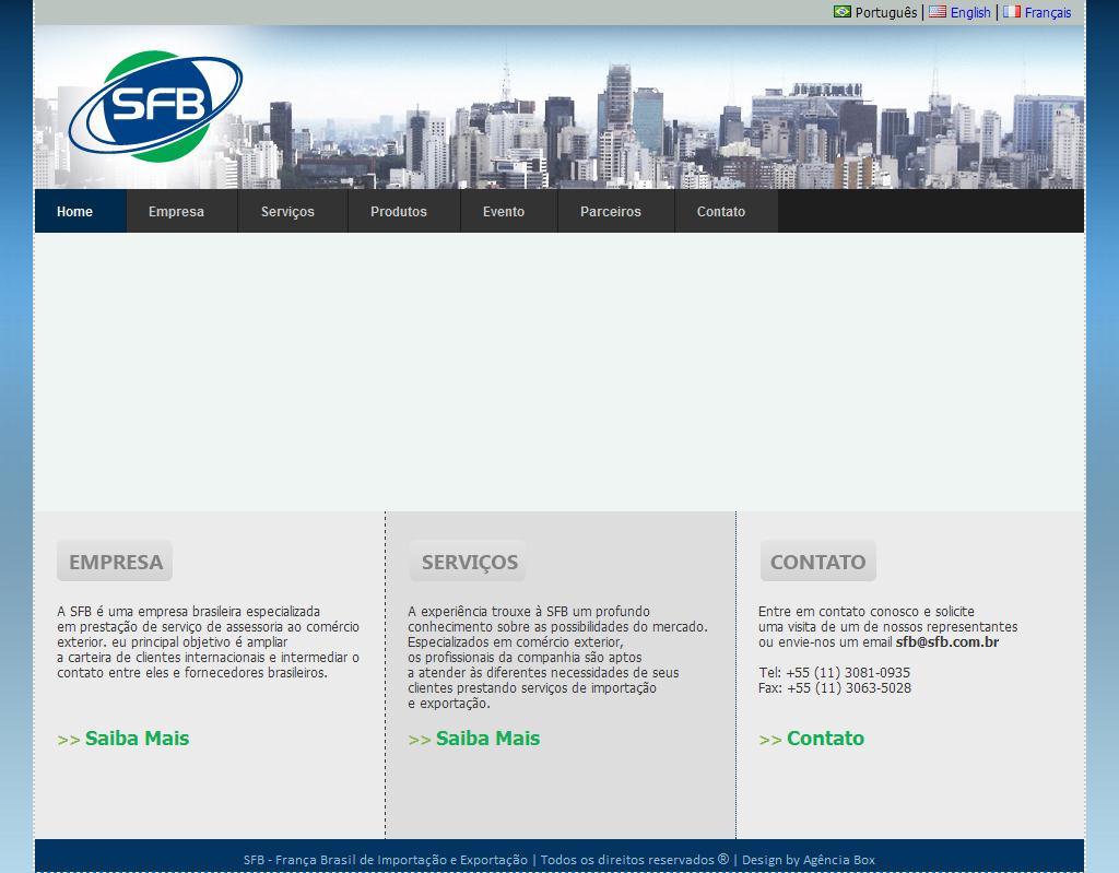 SFB - França Brasil de Importação e Exportação