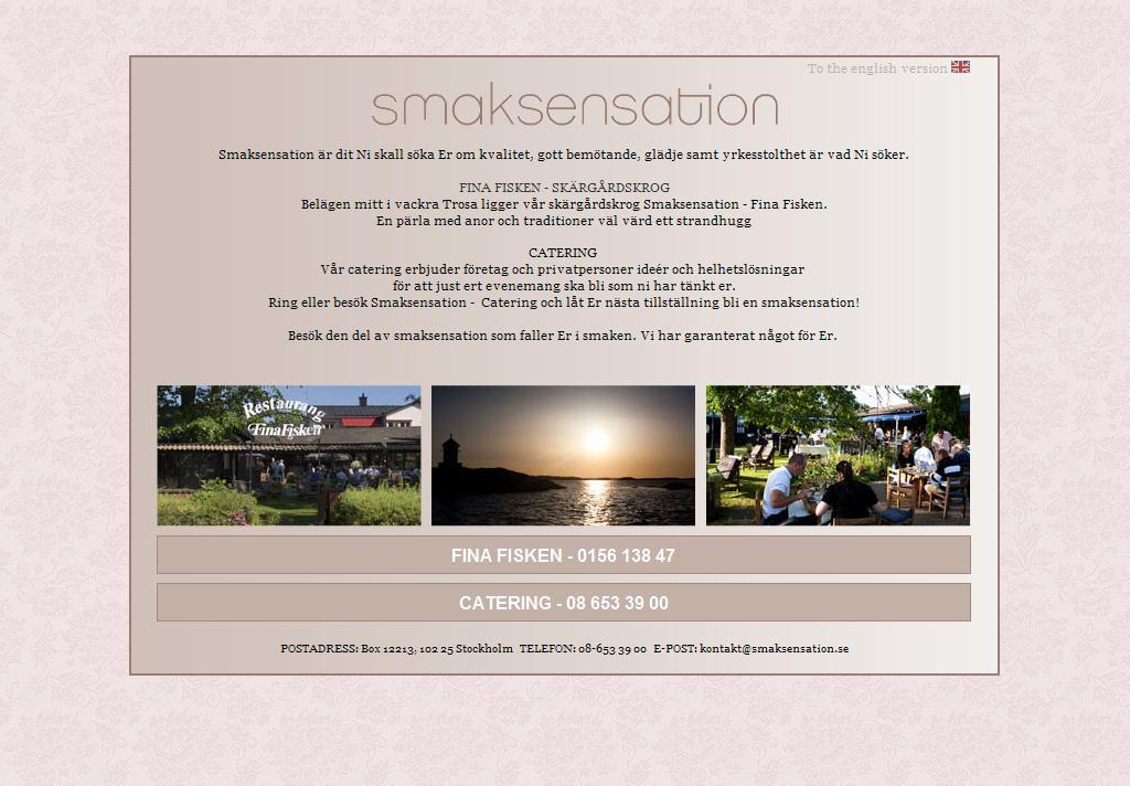 Catering i Stockholm – Smaksensation