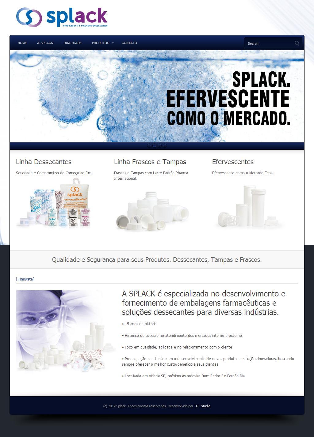 Splack | Embalagens e Soluções Dessecantes