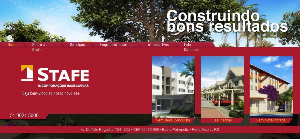 Stafe - Incorporações Imobiliárias