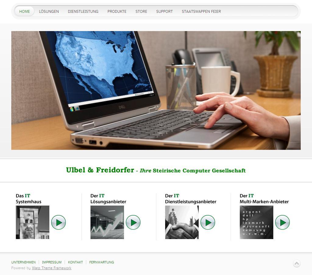 Ulbel und Freidorfer - Ihre Steirische Computer Gesellschaft