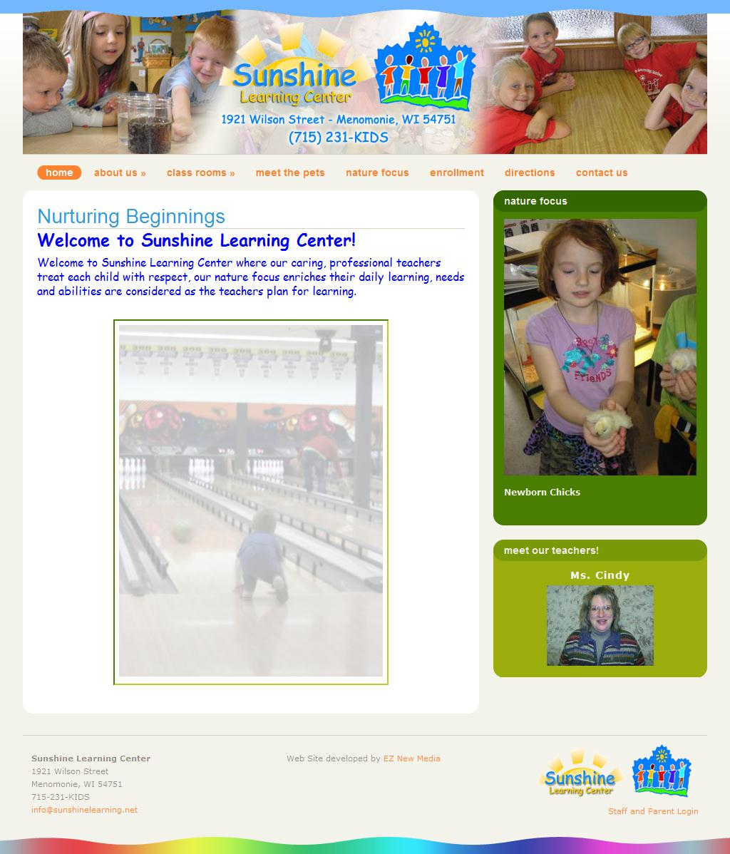 Nurturing Beginnings | Sunshine Learning Center