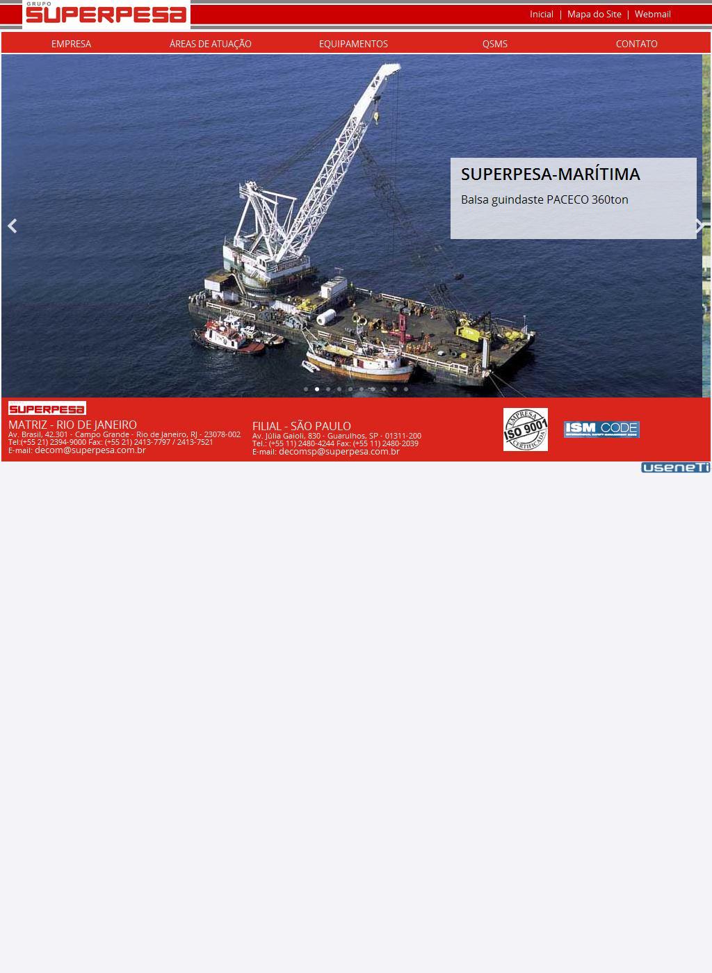 Superpesa | Transportes terrestres e marítimos