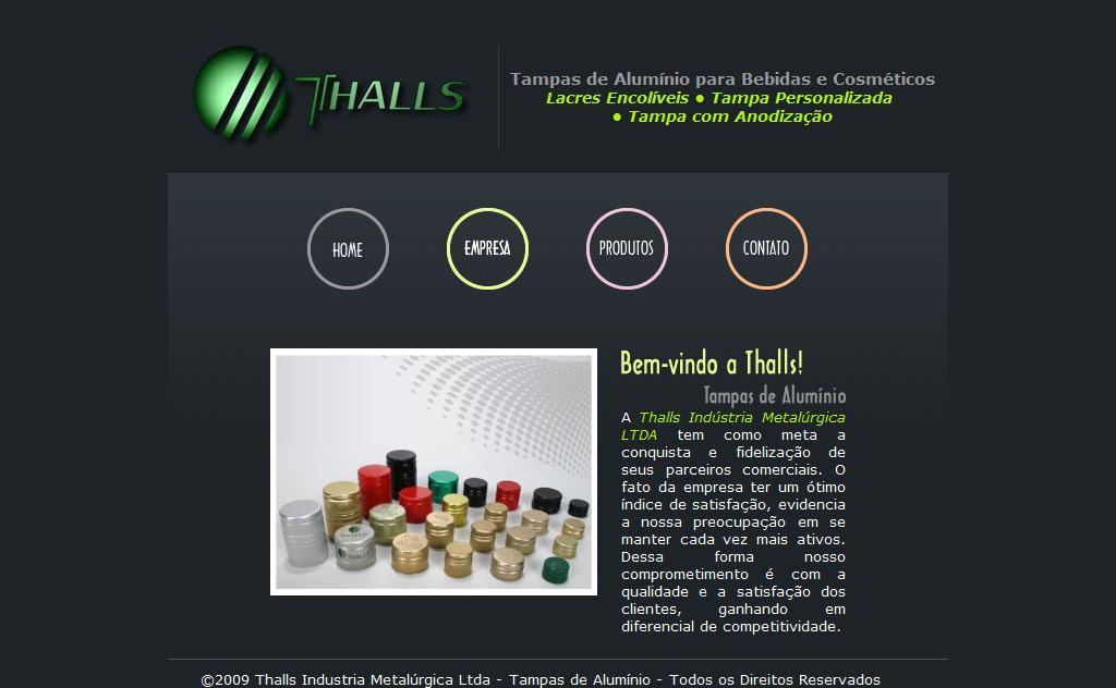 Thalls Industria Metalúrgica Ltda - Tampas de Alúminio