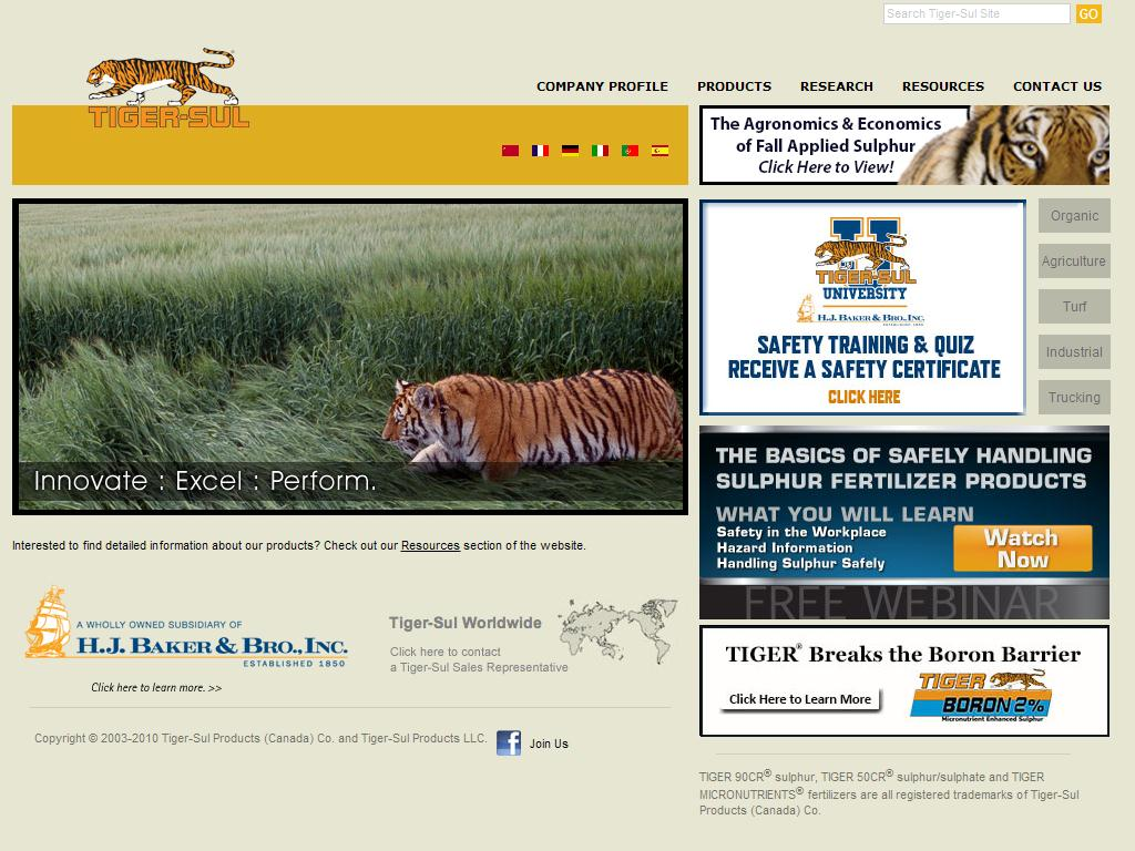 Tiger-Sul Products