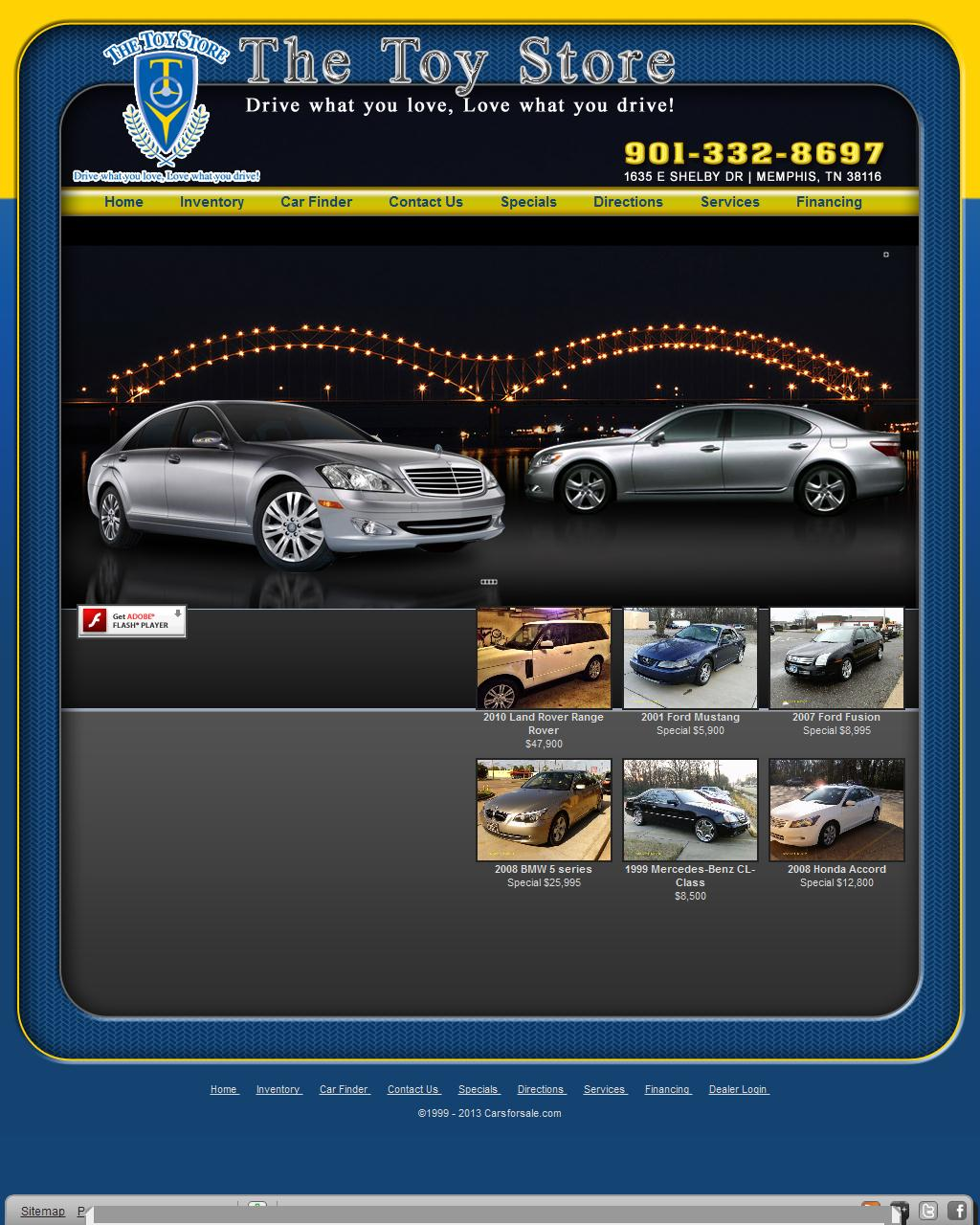 Used Cars Memphis TN Used Cars Dealer Cordova Germantown - The Toy Store